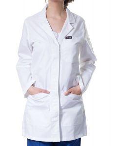 Jotex women imported white lap coat