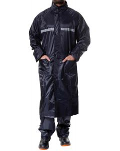Jotex navy blue rain coat