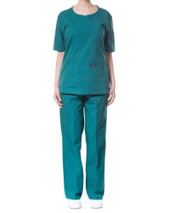 jotex women scrub green