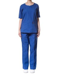 jotex women scrub royal blue