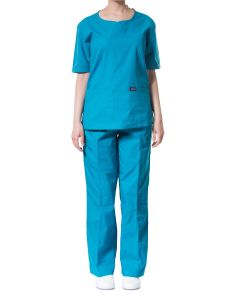 jotex women scrub teal