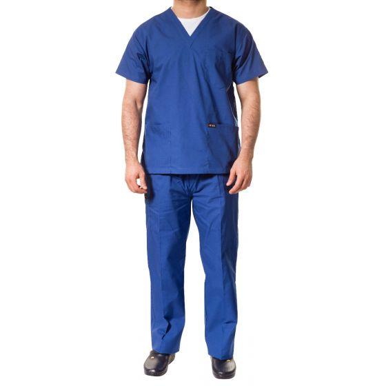 jotex men scrub royal blue