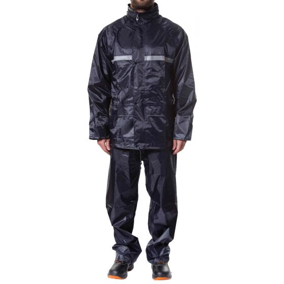 Jotex navy blue rain suit