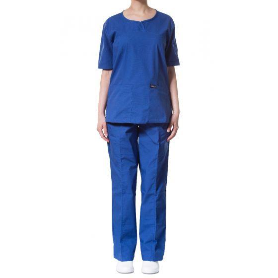 jotex women scrub royal blue