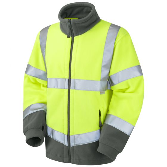 Leo F01-Y Class 3 Fleece Yellow Jacket (Hartland)