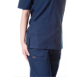 jotex women scrub navy blue