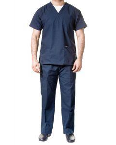 jotex men scrub navy blue