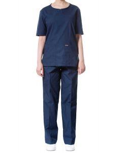 jotex women scrub navy blue