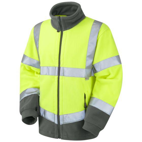 Leo F01-Y Class 3 Fleece Yellow Jacket (Hartland)